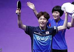 Ganda Korut-Korsel raih medali emas pertama untuk Korea Bersatu dalam 27 tahun