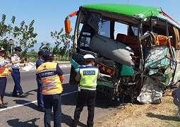 12 Orang Tewas Kecelakaan Maut Tol Cipali, Penumpang Ngamuk Bus Pindah Jalur dan Tabrak 3 Mobil