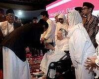Kisah Jokowi Soal Peci Gus Dur dan Prihatin Kondisi Bangsa