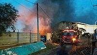 Pabrik Biji Plastik di Bekasi Terbakar, Asap Tebal Membumbung Tinggi
