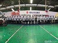 Suzuki Mulai Produksi GSX 150