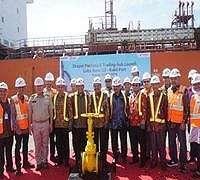 Pertamina Lubricants Ekspor Perdana Lube Base Oil di Batam