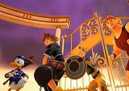 Kingdom Hearts 3 Rilis Screenshot Twilight Town & Olympus