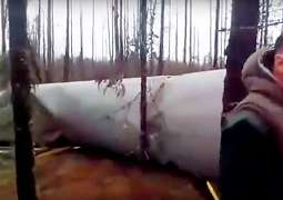 Pemburu Rusa Rusia Menemukan Roket Pesawat Luar Angkasa    Alien    Jatuh di Hutan Terpencil