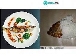 12 Makanan Warteg Disajikan ala MasterChef Ini Kocak Abis