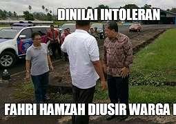 Diusir Warga Manado Karena Intoleran, Ini Kata Fahri Hamzah
