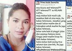 Hina Warga NTT di FB, Prima Gaida Journalita Ditangkap Polisi