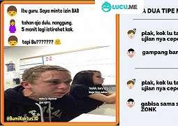 14 Meme 'Anak Sekolah' Ini Kocaknya Bikin Kangen Masa Sekolah