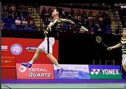Video Detik-detik Serangan Terbang Kevin/Marcus di Final Hong Kong