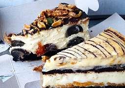 Cita Rasa Ajaib, Cheese Cake dengan Telur Seabad dan Ikan Bilis