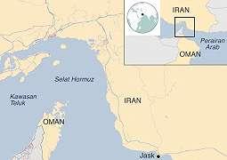 Dua kapal minyak di Teluk Oman diduga diserang, sebulan setelah serangan terhadap empat kapal minyak di Uni Emirat Arab