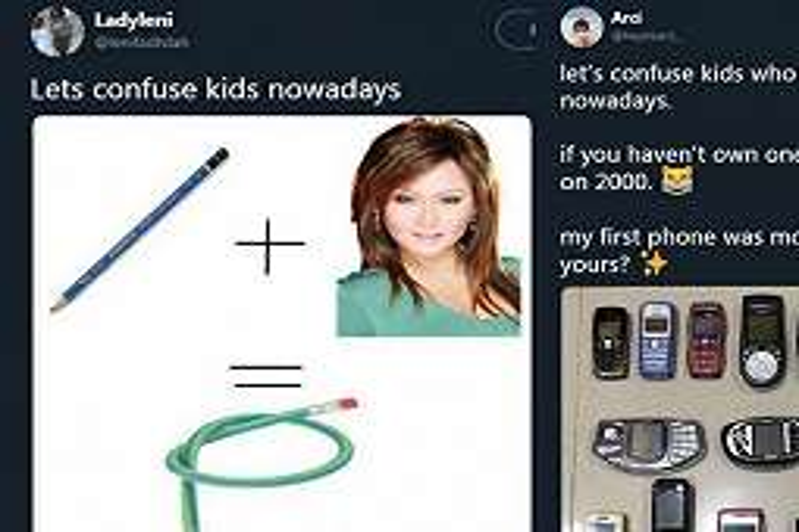 12 Cuitan lucu 'lets confuse kids nowadays' ini bikin nostalgia