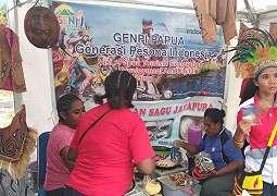 Festival Crossborder Skouw 2019 Sukses Curi Perhatian Wisatawan Papua Nugini.