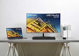 [CES 2019] Samsung UR59C: Monitor Lengkung 32 Inci Untuk Para Konten Kreator
