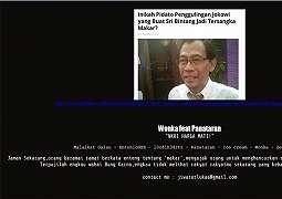 Situs Kodiklat TNI AD Diretas