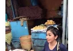 Viral, Sosok Penjual Sayur Cantik di Pasar Ini Mirip Syahrini