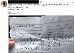 Viral Surat Diduga Tulisan Buni Yani dari Bui, Nama Ahok Diseret Lagi